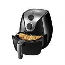 Fritadeira Elétrica Air Fryer Gourmet Preta Multilaser - Multilaser