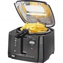 Fritadeira Elétrica Com Óleo Britania Fácil Plus 3 Preta 2L -