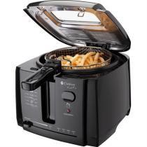 Fritadeira Elétrica Com Óleo Cadence Fast Fry FRT200 Preta 2L -