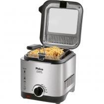 Fritadeira Elétrica Com Óleo Philco Deep Fry Cinza 1,8L -