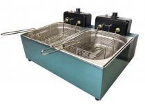 Fritadeira Eletrica Industrial 2 Cubas 10 Litros Gastromixx -