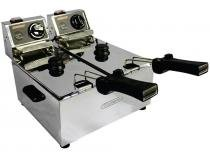 Fritadeira Elétrica Industrial Cotherm Turbo 2622 - 6L Inox com 2 Cestos