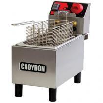 Fritadeira Elétrica Industrial Croydon FC1A?2 - 3L Inox com 1 Cesto