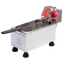 Fritadeira Elétrica Industrial Marchesoni FT.1.401 - 4L Inox com 1 Cesto