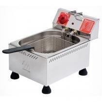 Fritadeira Elétrica Industrial Marchesoni FT.1.601 - 6L Inox com 1 Cesto