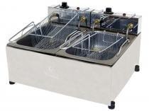 Fritadeira Elétrica Industrial Progás - New Queen Style PR 20E 10L com 2 Cestos