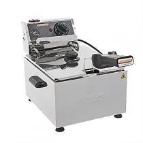 Fritadeira Elétrica Industrial Turbo 1 Cuba 5L 220V 2582 Cotherm -