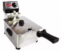 Fritadeira elétrica profissional 5 litros linha frita fácil cotherm -