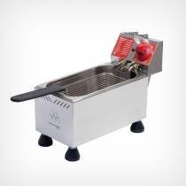 Fritadeira Elétrica Profissional em aço inox 4L Marchesoni -