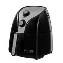 Fritadeira Elétrica Sem Óleo/Air Fryer Black & Decker Blackfryer Preta 3,2L com Timer -