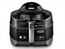 Fritadeira Elétrica Sem Óleo/Air Fryer DeLonghi Multicuisine Smart FH1363 Preta 5,2L -