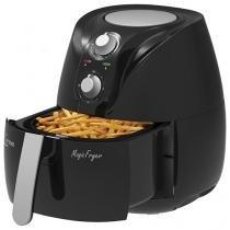 Fritadeira Elétrica Sem Óleo/Air Fryer Lenoxx - Magic Fryer Preta 2,3L com Timer