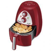 Fritadeira Elétrica Sem Óleo/Air Fryer Mondial Family AF-14 Vermelha 2,2L com Timer -