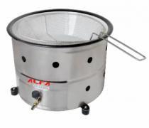 Fritadeira Para Batatas Fritas Coxinhas Bolinhos 5 L A Gás - Alfa suportel