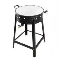 Fritador em aço pintado com tacho esmaltado fa-22 até 6 litros - armon - Armon