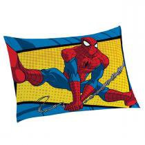 Fronha Avulsa Spider-Man Ultimate Amarela 50cm x 70cm  Lepper - Lepper