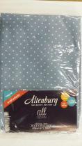 Fronha para body pillow all design 40x130cm poá - Azul escuro - Altenburg