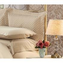 Fronha Para Travesseiro 50X90cm Matelasse Soft Touch Marrom Plumasul -