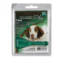 Frontline Plus Cães 10 a 20kg Antipulgas e Carrapatos Merial - Descrição marketplace -