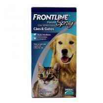 Frontline Spray 250ml Merial Antipulgas Carrapatos Cães Gatos - Descrição marketplace -