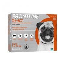 Frontline Tri-Act 5 a 10kg 1ml Merial 3 pipetas - Descrição marketplace -