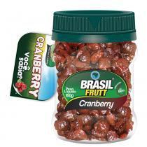 Fruta desidratada cranberry brasil frutt 160g -