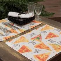 Fundo de Prato Pizza 35x50 6 Peças - Karsten - Karsten