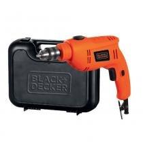 """Furadeira de Impacto 3/8"""" 550 watts com maleta - BD550M (110V) - Black + decker"""