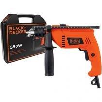 """Furadeira de Impacto BlackDecker 550W 1/2""""   - HD555K"""
