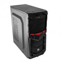 Gabinete C3Tech Gamer ATX sem Fonte Preto MT-G50BK -