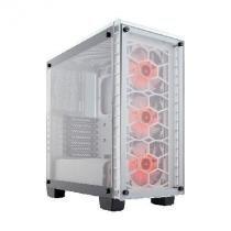 Gabinete CRYSTAL 460X RGB White ACO Branco / Vidro Temperado -  CC-9011129-WW - Corsair