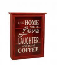 Gabinete Decorativo de Parede Laughter - Maria Pia Casa