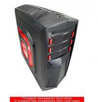 Gabinete G-Fire ATX Gamer sem Fonte - HTT018B06 -