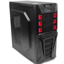 Gabinete Gamer 2 portas USB 2.0 AC97 MT-G200 - C3 Tech - C3 Tech