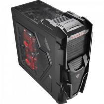 Gabinete Gamer MID Tower Mechatron Window BLACK Steel Edition EN57028 Preto Aerocool -