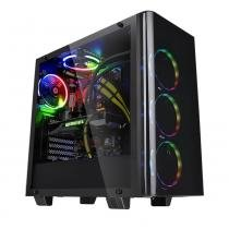 Gabinete Gamer Thermaltake Ca-1I3-00M1wn-04 View 21 Tg Mid Tower Preto -