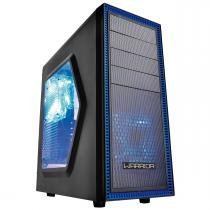 Gabinete Gamer Warrior com 3 Cooler LED Azul GA134 - Multilaser - Multilaser