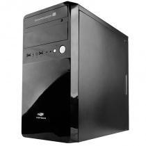 Gabinete Micro ATX com Fonte 200W MT-22BK PS-200V2 U2HA Preto - C3 Tech - C3 Tech