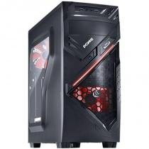 Gabinete MID-Tower Chacal com 1 Fan LED Vermelho CHACALPTOVM2FCA - Pcyes - Pcyes
