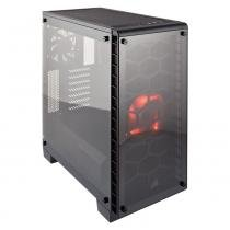Gabinete Mid Tower Gaming Crystal Series 460X Preto Cc-9011099-Ww Corsair -