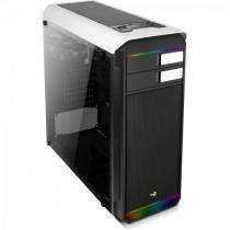 Gabinete Mid Tower RGB c/ LED Aero-500G Branco AEROCOOL -