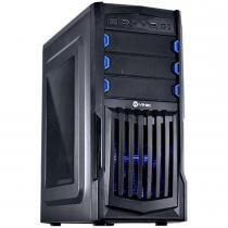 Gabinete Mid-Tower VX Gaming Thunder V2 Preto LED Azul - Vinik - Vinik