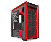 Gabinete nzxt h700i preto/vermelho ca-h700w-br -