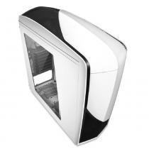 Gabinete nzxt phantom 240 branco/preto lateral em acrilico s/ fonte - ca-ph240-w1 -