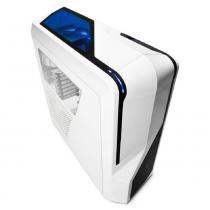 Gabinete nzxt phantom 410 branco piano lateral em acrilico s/ fonte - ca-ph410-w1 -