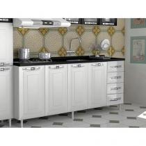 Gabinete para Cozinha 4 Portas 4 Gavetas - Colormaq Lux
