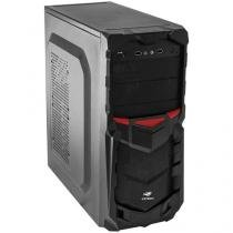 Gabinete para PC MT-G50BK C3TECH 6 Baias - Sem Fonte
