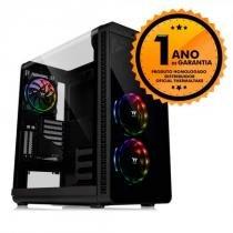 Gabinete Thermaltake TT VIEW 37 RGB PLUS BLACK WIN CA-1J7-00M1WN-01 -