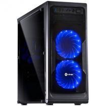 Gabinete Vinik Midtower Vx Gaming Guardian Full Window 02 Fan Frontal 120mm Led -
