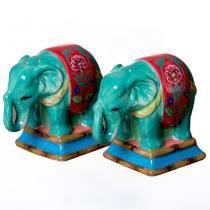 Galheteiro Cerâmica Elefante Eden Ranch - Soul home